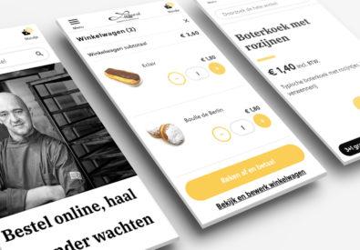 New food webshop for bakery Lietaert